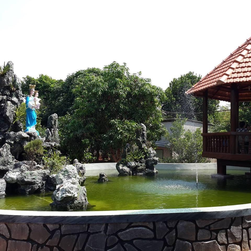 thiết kế thi công hồ cá koi tại Xuyên mộc