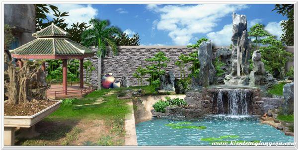 Thi công hồ bơi tại Phan Thiết